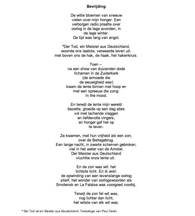 lange gedichten