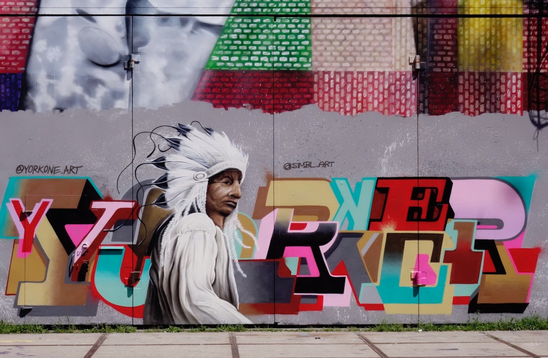 straatkunst-ndsm-indiaan - 1