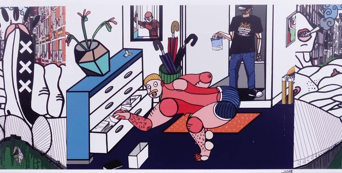 straatkunst-schilderij - 1