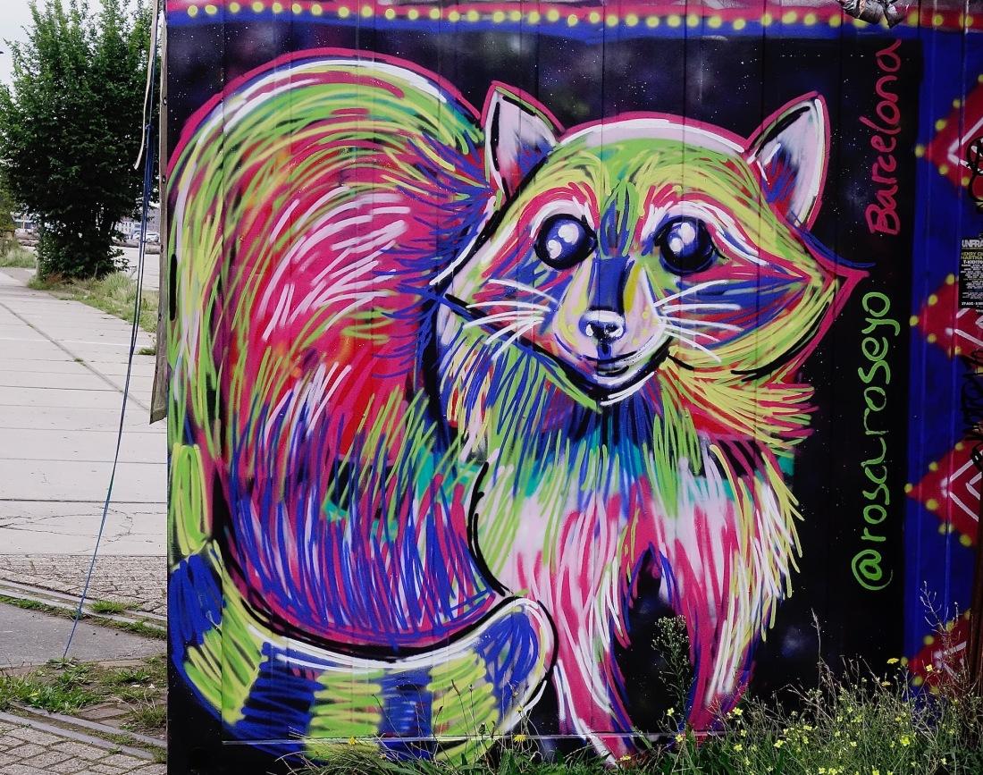 straatkunst-vos - 1